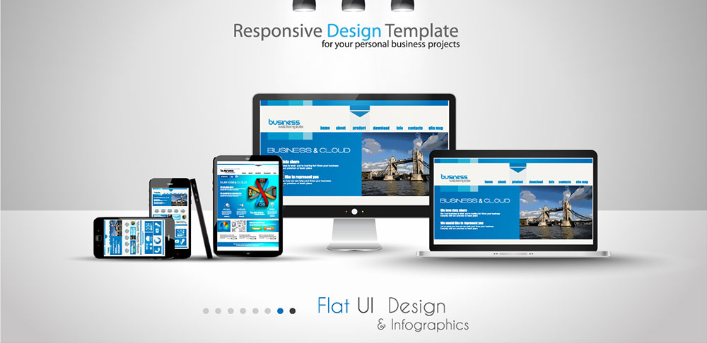 design of the website suitable for all types of devices from mobile phone to table to desktop